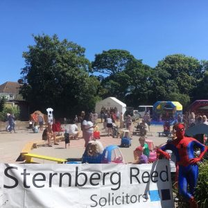 Sponsorship of St Peter's Catholic Primary School's Sizzling Summer Fayre