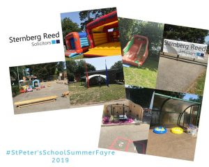 Sternberg Reed sponsor Summer Fayre