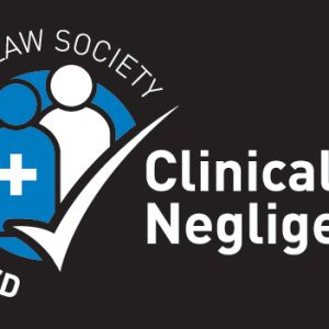 Clinical Negligence: Law society accredited